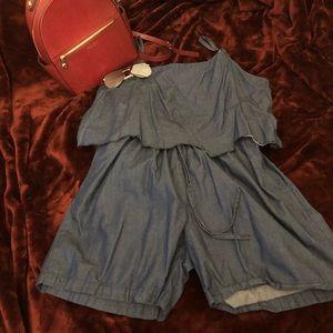 Dresses & Skirts - Jean Romper
